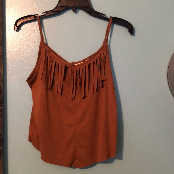 Cato Other - Fringe tank top
